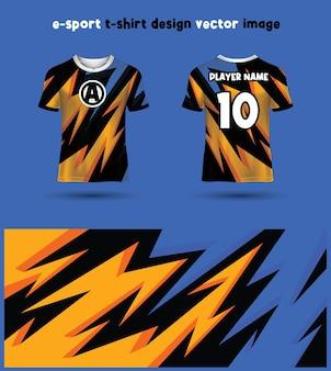 Modelo de jersey da esports gaming t