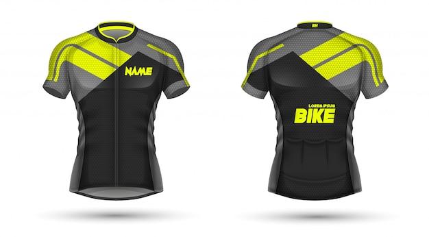 Modelo de jersey de ciclismo