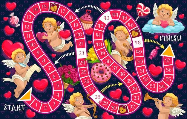 Modelo de jogo de tabuleiro infantil