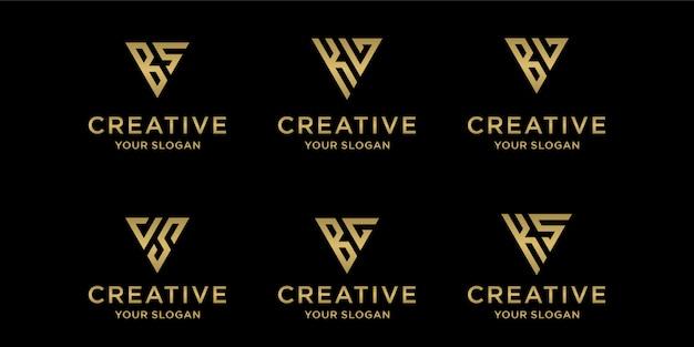 Modelo de logotipo criativo