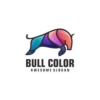 Modelo de logotipo da bull