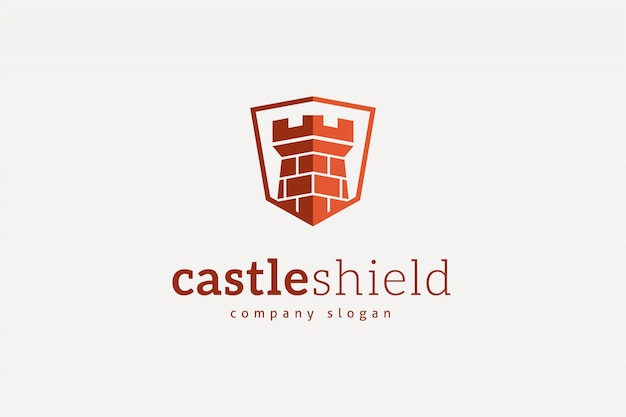 Modelo de logotipo da castle