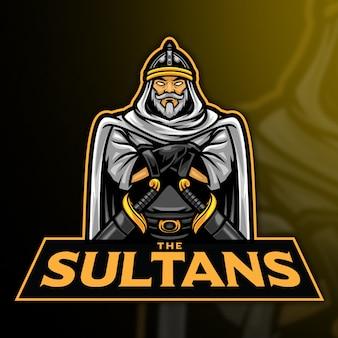 Modelo de logotipo da sultan esport