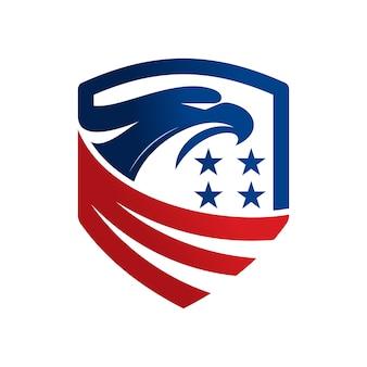 Modelo de logotipo de águia