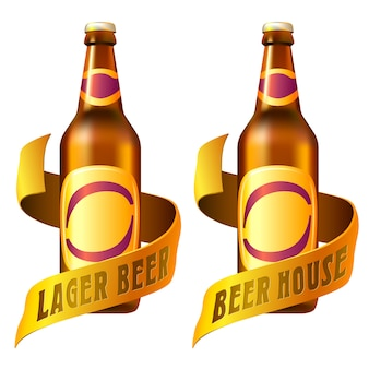 Modelo de logotipo de bebidas de bar.