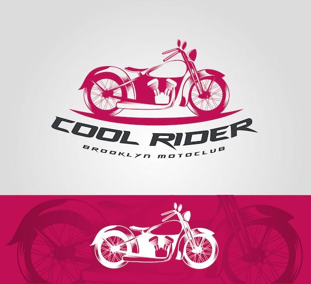 Modelo de logotipo de bicicleta vintage