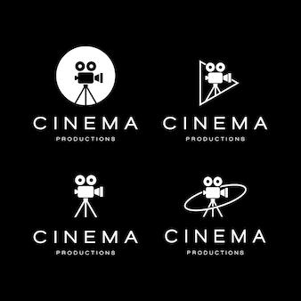 Modelo de logotipo de cinema