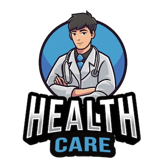 Modelo de logotipo de cuidados de saúde