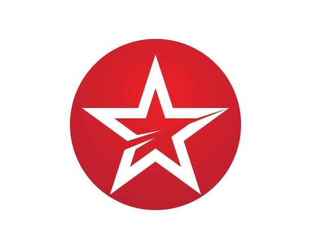 Modelo de logotipo de estrela