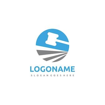 Modelo de logotipo de lei