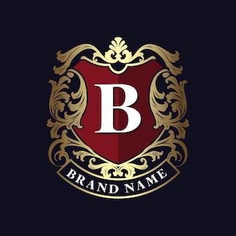 Modelo de logotipo de luxo.