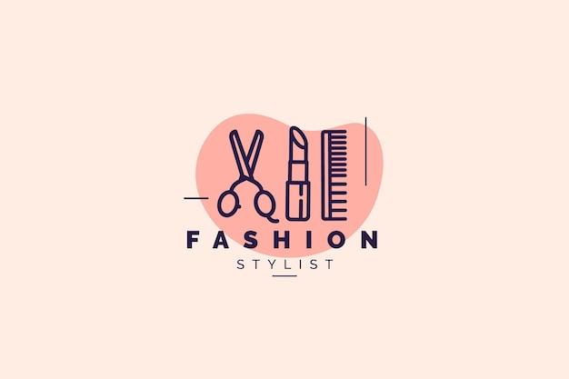 Modelo de logotipo de moda