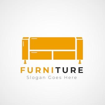 Modelo de logotipo de móveis