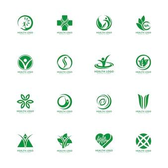 Modelo de logotipo de natureza