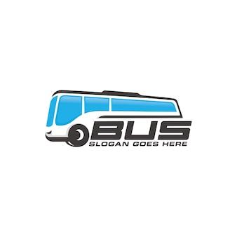 Modelo de logotipo de ônibus