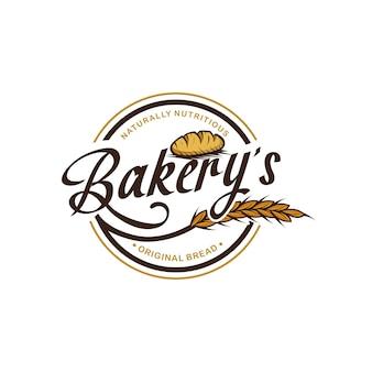 Modelo de logotipo de padaria