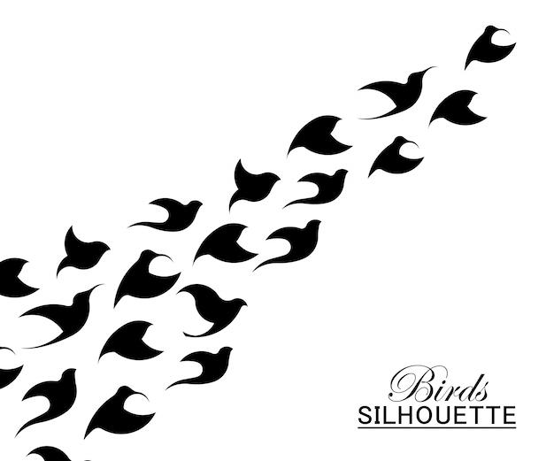 Modelo de logotipo de pássaro abstrato. criativo dove logotype negócios tecnologia conceito símbolo