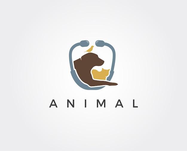 Modelo de logotipo de pet shop