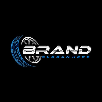 Modelo de logotipo de pneu