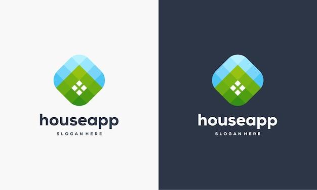 Modelo de logotipo de pulso simples, modelo de logotipo simple healthcare, ilustração vetorial de designs de logotipo do health center