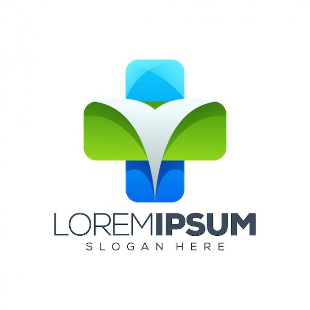Modelo de logotipo de saúde