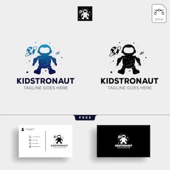 Modelo de logotipo de sonhos de crianças