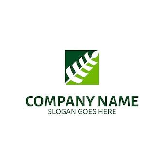 Modelo de logotipo de vetor de grãos de trigo. apto para fazenda de trigo, colheita natural, agronomia, etc.