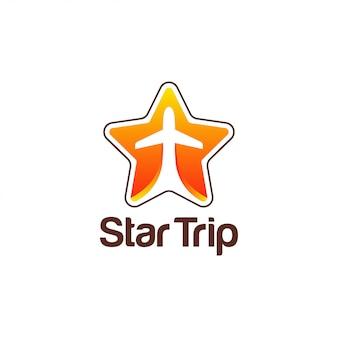 Modelo de logotipo de viagem