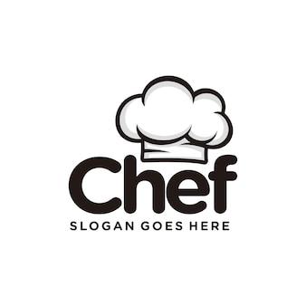 Modelo de logotipo do chef