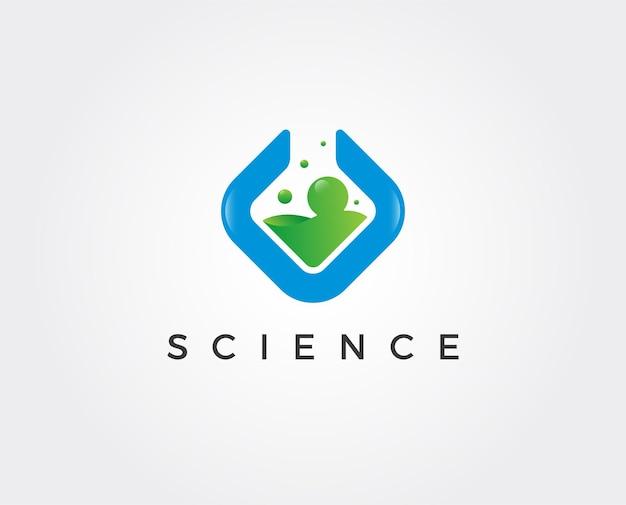 Modelo de logotipo do laboratório