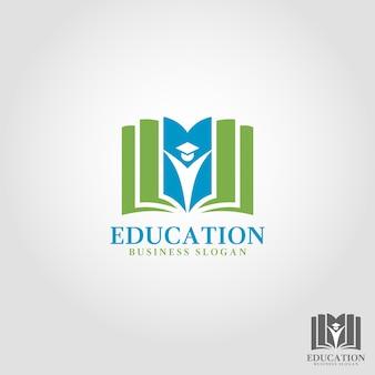 Modelo de logotipo educacional