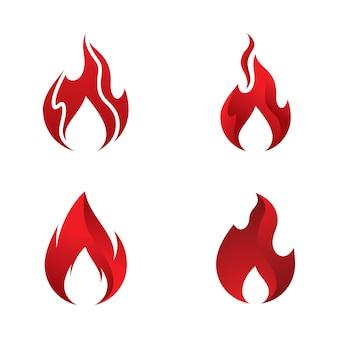 Modelo de logotipo fire