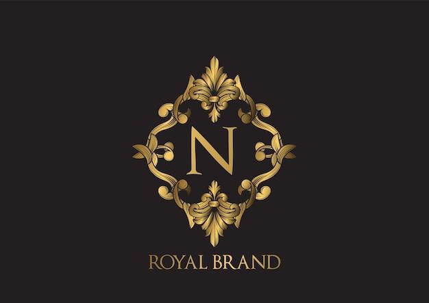 Modelo de logotipo luxuoso.