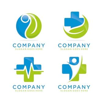 Modelo de logotipo médica