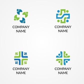 Modelo de logotipo médico