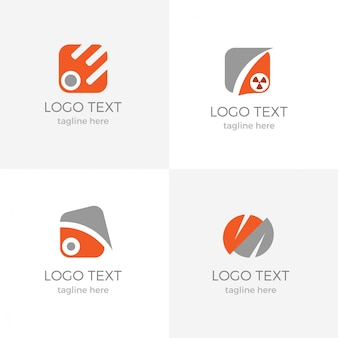 Modelo de logotipo moderno apartamento empresarial