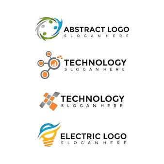 Modelo de logotipo moderno e minimalista