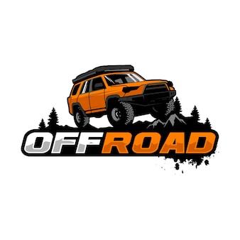 Modelo de logotipo offroad