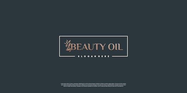 Modelo de logotipo olive com estilo de elemento criativo premium vector parte 3