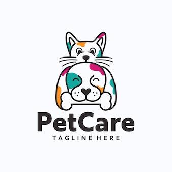 Modelo de logotipo para animais de estimação