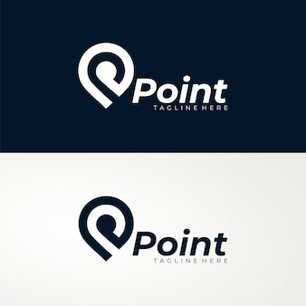 Modelo de logotipo point
