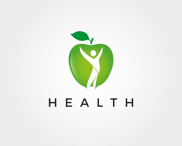 Modelo de logotipo saudável