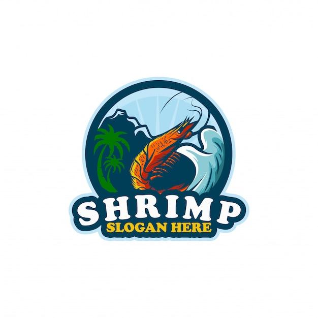 Modelo de logotipo shirmp