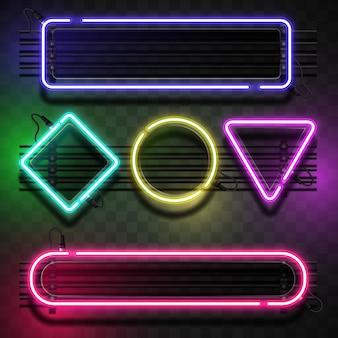 Modelo de luz de néon