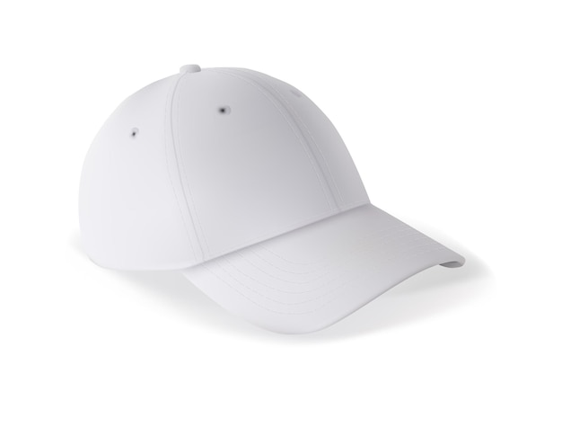 Modelo de maquete de boné de beisebol em branco para a marca em branco