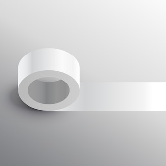 Modelo de maquiagem adesiva de fita adesiva