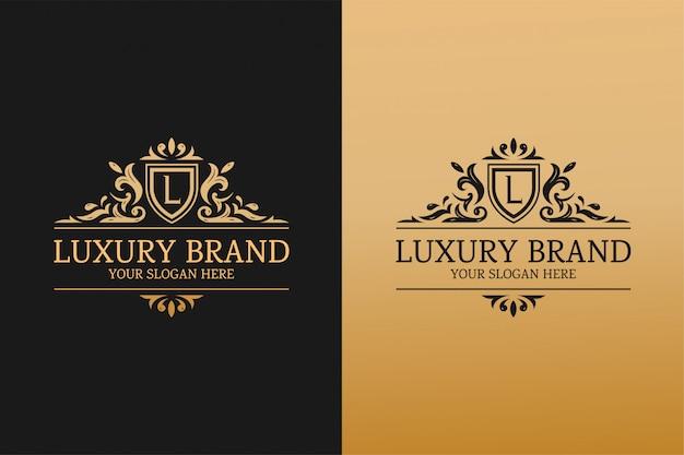 Modelo de marca de luxo