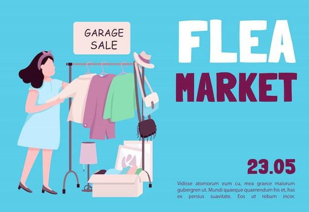 Modelo de mercado de pulgas