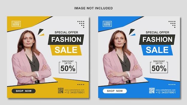 Modelo de mídia social para promoção de venda de moda no instagram