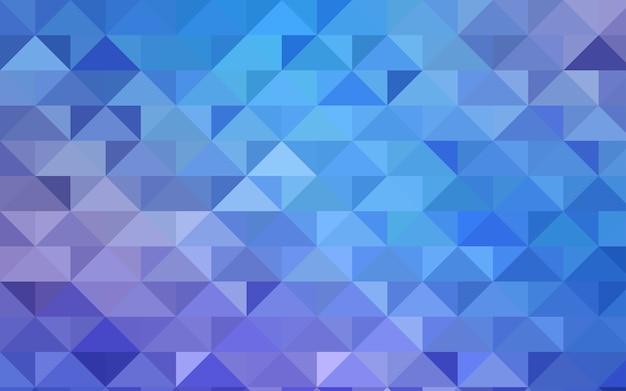 Modelo de mosaico de triângulo azul vector